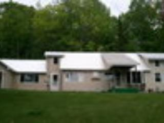 The Knoll in summer. - Hillside House/Lakeside Picnic Area for Summer Fun - East Stoneham - rentals