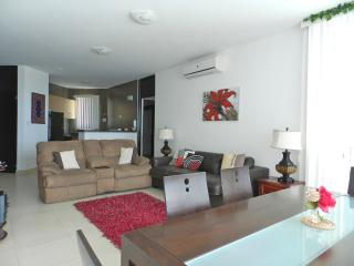PB-003, 2 bedroom luxury condo. 7th floor view - Panama vacation rentals