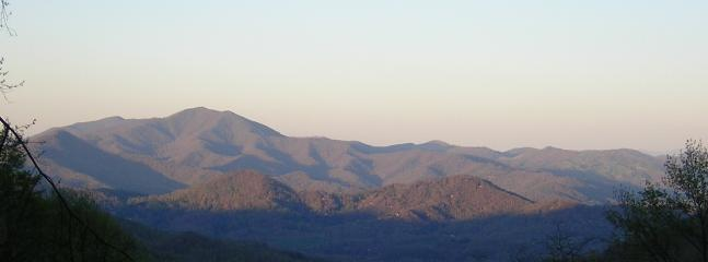 View from the deck - House of Joy - Waynesville - rentals