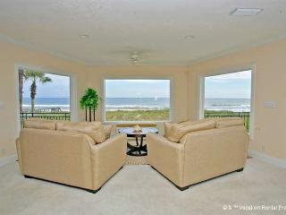 Golden Star, 7 Bedroom & Loft, Sleeps 18, Beach Front near Mayo - Jacksonville vacation rentals