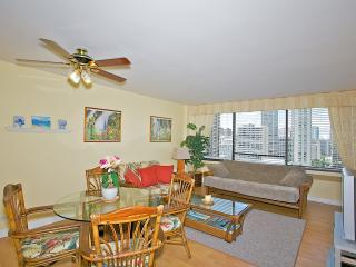 2Bd/2Ba in the heart of Waikiki ~ Aloha Towers 18A - Honolulu vacation rentals