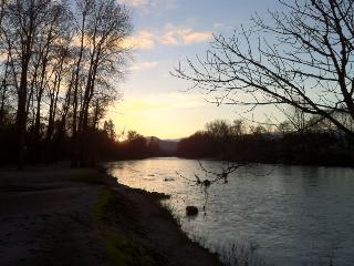 Casey's River Cottage - Property on Rogue River!  Short walk to river -quiet and rural - Grants Pass vacation rentals