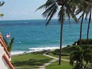 View from terrace - Caribbean Beach Front Condo - Cabarete - rentals