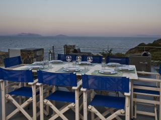 Beachfront House with breathtaking sea view and private beach - Cyclades vacation rentals