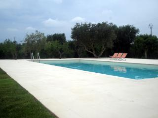 Trulli Tarturiello, hilltop big trullo with nice pool - Puglia vacation rentals