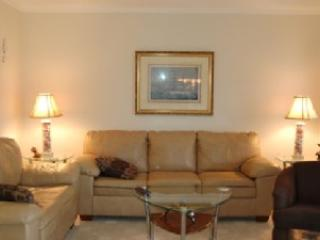 Living room with sleeper sofa - 2BR W/ POOLS/LAZY RIVER/JACUZZIS, MB RESORT A516 - Myrtle Beach - rentals