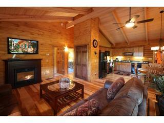 Catskill Region Vacation Log Home Rental - Margaretville vacation rentals