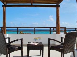 Beach Front Penthouse, Ocean Views, Total Luxury - Yucatan-Mayan Riviera vacation rentals