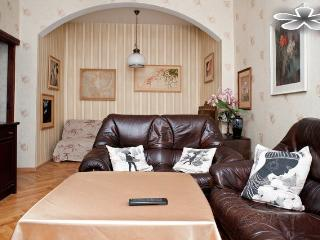 The 1-roomed apartment in the center of Minsk overlooking Pobedy Square - Belarus vacation rentals
