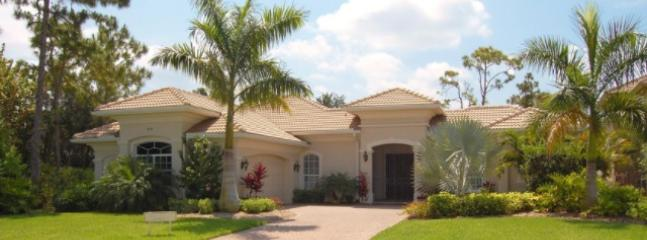Front of House - Beautiful 4 Bedroom Home in gated Community near beach - Naples - rentals