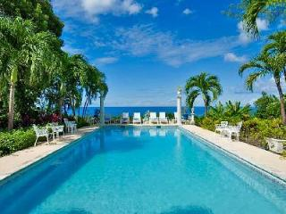 Exquisite Shangri La with panoramic ocean views, lush manicured grounds with pool - Saint James vacation rentals