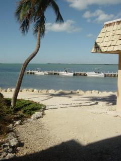 View from porch - Key Largo Beach Front Condo - Key Largo - rentals