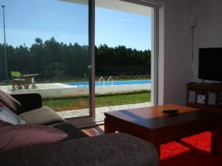 446675 - Modern Air Conditioned apartment with Garden and direct access to Pool - Sleeps 6 - Pedra do Ouro - Pataias vacation rentals