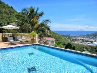 VILLA VISTA... Breathtaking views of Simpson Bay, Saba Island, the French capital of Marigot - Saint Martin-Sint Maarten vacation rentals