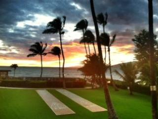 Evening sunset views most every night - Maui Ocean Front Condo - Kihei - rentals