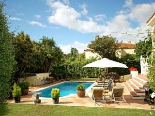 Villa Rosa pool and garden - Luxury 5 bedroom Villa in Sotogande Costa - Sotogrande - rentals