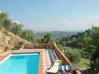 Located in the Tuscan hills near the main cities with swimming pool and spectacular view! - Lucca vacation rentals
