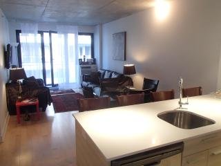 Great Brand New 2B in Griffintown with parking! - Montreal vacation rentals
