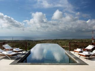 Luxury Hillside Villa with hanging Infinity Pool - Jimbaran vacation rentals