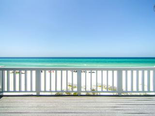 Beautiful Oceanfront townhouse on quiet beach a short drive to Rosemary Beach - Surfer's Paradise (Beachfront) - Mountain Village vacation rentals
