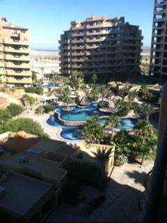Grounds and one of the poole - Spacious condo in quiet Beachfron Resort - Puerto Penasco - rentals