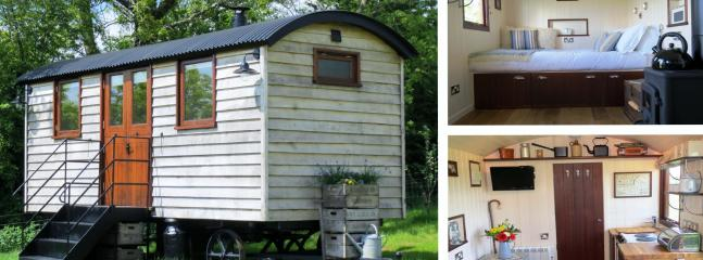 Len's Hut Overview - Tor View Shepherds Huts - Somerset - rentals