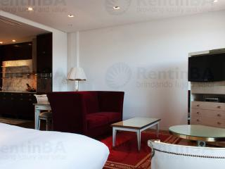 Maroon, White & Aquamarine Tones on a Base of Wood and Marble (ID#575) - Buenos Aires vacation rentals