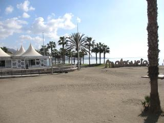 On the Beach Malagueta (Malaga), WIFI, terrace, air - Rincon de la Victoria vacation rentals