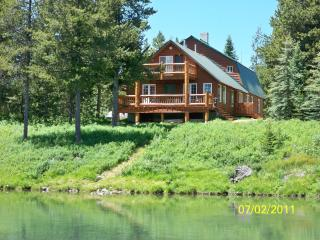 Large Waterfront Cabin Near Yellowstone - Island Park vacation rentals