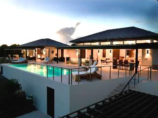 Anguilla Villa 63 Sits On A Slight Landscaped Rise Overlooking The Caribbean Sea And The Mountains Of St. Maarten Beyond. - Terres Basses vacation rentals