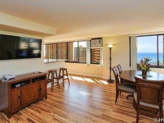 Waikiki 2BR 2.5 baths / Full Ocean Sunset Views - Waikiki vacation rentals