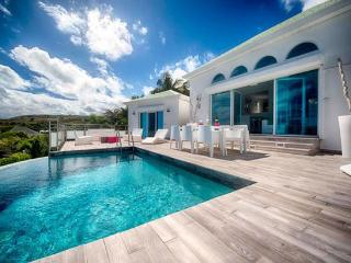 St. Martin Villa 152 A Lovely Sun Deck And Plunge Pool With Modern Luminous Patio Furniture. Enjoy A Fabulous View Over Orient B - Orient Bay vacation rentals