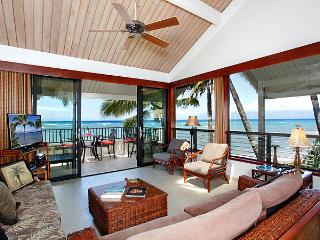 Ocean Front Prime 2 Bedroom Luxury Condo Unit 05 - Kahana vacation rentals