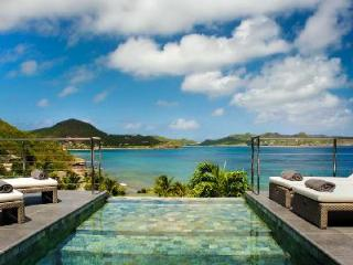 Modern Mirande- memorable sunset ocean view, sleek outdoor lounge with pool - Saint Barthelemy vacation rentals