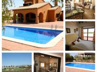 3 Bed Villa Free Internet Private Pool R.BA01 - Region of Murcia vacation rentals