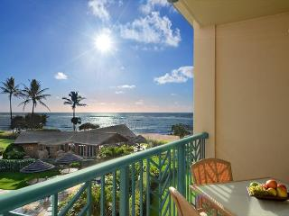 CALL NOW for OCEAN & BEACH view **DISCOUNTS**  H306 is PRIME!! - Kapaa vacation rentals