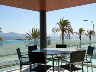 Luxurious apartment on beach front with sea views - stylish and top quality furniture - ES-311030-Puerto Pollença - Port de Pollenca vacation rentals