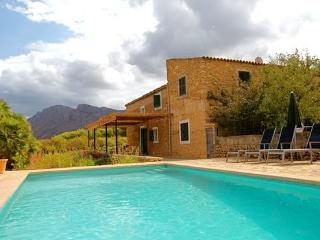 Finca Mallorca with pool and views  of the mountains of Colonia de Sant Pere - ES-50434-Colonia de Sant Pere - Son Serra de Marina vacation rentals