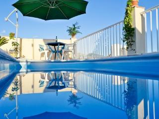 In the heart of Nerja - Costa del Sol,  historical house with pool-terrace at beach - ES-87526-Nerja - Nerja vacation rentals