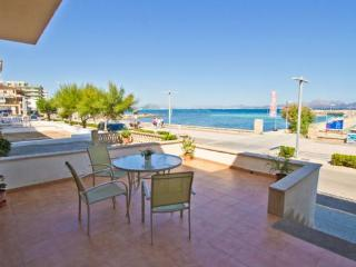 Apartment facing the sea -  200 meters from a sandy beach - ES-1072041-Can Picafort - Image 1 - Ca'n Picafort - rentals