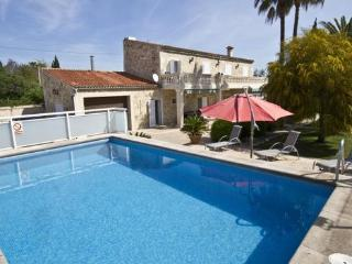 Finca in the heart of Mallorca with Inca for  7 people with tennis court and pool - ES-1074869-Inca - Inca vacation rentals
