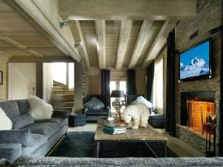 Mountain view Chalet Black Pearl with ski access, fireplace and home theatre - Val d'Isère vacation rentals