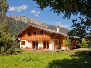 Stylish Chalet Sanaz with sunken jacuzzi on the terrace & easy access to Chamonix town - Rhone-Alpes vacation rentals