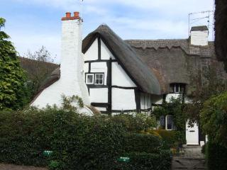 BLUEBELL COTTAGE, character features, off road parking, romantic, thatched cottage in Shottery, Ref 27444 - Shottery vacation rentals