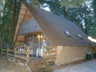 Snowline Cabin #86 A rustic pet friendly Cabin with wood burning stove - Glacier vacation rentals