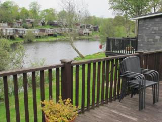 lake view water front chalet on country park - Caernarfon vacation rentals