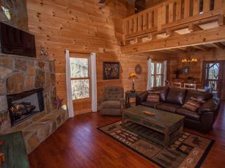 Talking Rock Lodge - Luxurious Cabin with View! - Ellijay vacation rentals