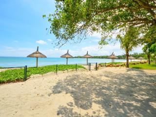 Serviced beach-front villa with lake view - Tamarin vacation rentals