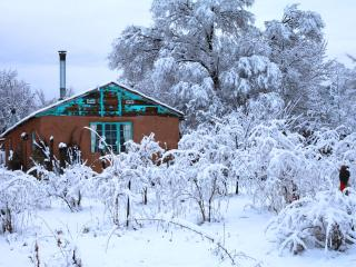 Mountain Eco Cabin: Vista Hermosa, located in between Red River and Taos Ski Valleys - San Cristobal vacation rentals