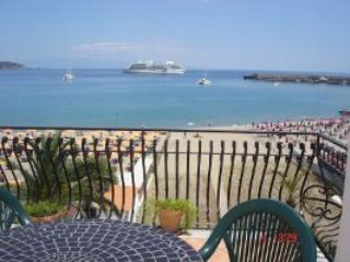NICE APARTMENT WITH BIG TERRACE FRONT SEA  CENTRAL AREA - Giardini Naxos vacation rentals